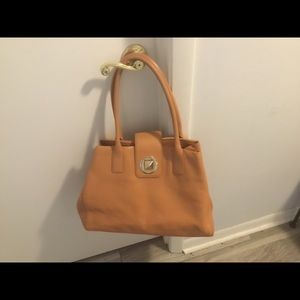 Kate Spade Brown Leather Large Tote Bag